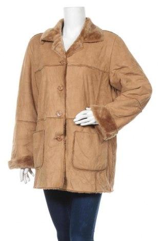 Дамско палто Sarah Amari, Размер M, Цвят Бежов, Цена 13,39лв.