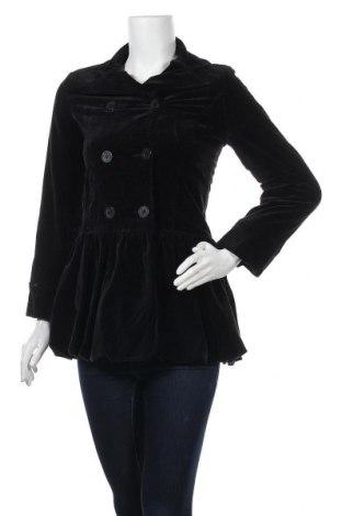 Дамско палто Sisley, Размер S, Цвят Черен, Цена 18,90лв.