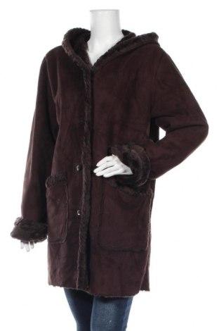 Дамско палто St. John's Bay, Размер L, Цвят Кафяв, Полиестер, Цена 40,16лв.