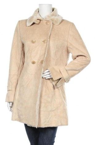 Дамско палто St. John's Bay, Размер M, Цвят Бежов, Полиестер, Цена 13,65лв.