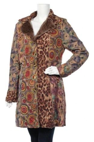 Дамско палто Stella, Размер L, Цвят Многоцветен, Полиестер, Цена 28,36лв.