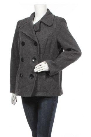 Дамско палто Style & Co, Размер M, Цвят Сив, 60% вълна, 26% полиестер, 6% вискоза, 8% други материали, Цена 26,04лв.