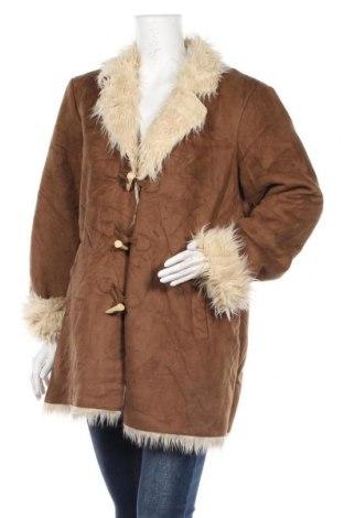 Γυναικείο παλτό Style & Co, Μέγεθος XL, Χρώμα Καφέ, 60%ακρυλικό, 40% πολυεστέρας, Τιμή 42,61€