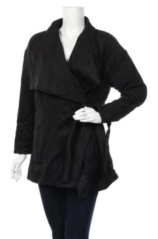 Дамско палто Sunny Girl, Размер L, Цвят Черен, 65% акрил, 35% вълна, Цена 10,24лв.