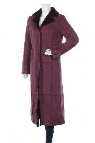 Дамско палто Take Two, Размер M, Цвят Лилав, 35% полиестер, 60% полиакрил, 4% еластан, 1% полиамид, Цена 37,01лв.