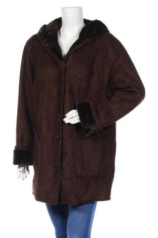 Γυναικείο παλτό Talbots, Μέγεθος XL, Χρώμα Καφέ, Πολυεστέρας, Τιμή 27,35€