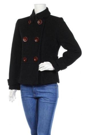 Γυναικείο παλτό Talbots, Μέγεθος M, Χρώμα Μαύρο, 55% μαλλί, 25% πολυαμίδη, 20% βισκόζη, Τιμή 30,35€