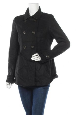 Дамско палто Tally Weijl, Размер L, Цвят Черен, Полиестер, Цена 55,65лв.