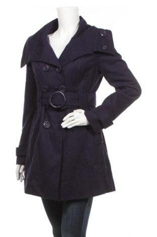Дамско палто Tally Weijl, Размер M, Цвят Лилав, 70% полиестер, 27% вискоза, 3% еластан, Цена 43,05лв.