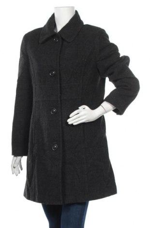 Дамско палто Target, Размер M, Цвят Сив, Вълна, вискоза, Цена 24,36лв.