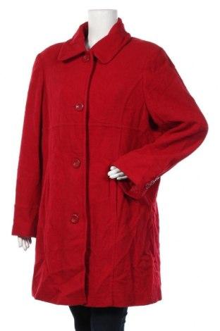 Дамско палто Target, Размер XXL, Цвят Червен, Вълна, вискоза, Цена 35,28лв.