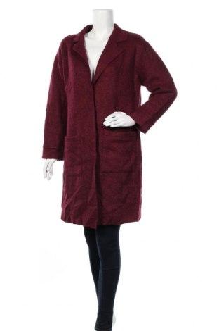Дамско палто Target, Размер L, Цвят Червен, Вълна, полиестер, Цена 48,83лв.