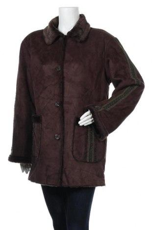 Дамско палто Tempo Reale, Размер M, Цвят Кафяв, Полиестер, Цена 13,86лв.