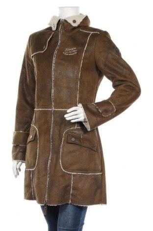 Γυναικείο παλτό Timezone, Μέγεθος M, Χρώμα Πράσινο, Πολυεστέρας, Τιμή 57,15€