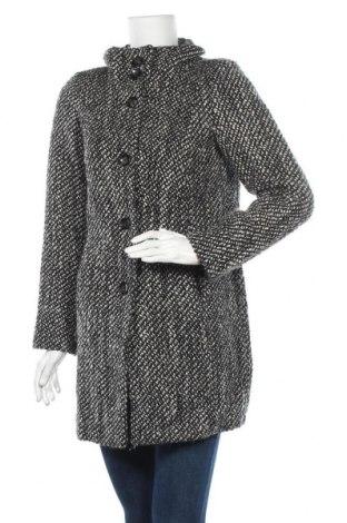 Дамско палто Tom Tailor, Размер S, Цвят Черен, 54% вълна, 39% полиакрил, 7% полиестер, Цена 45,83лв.