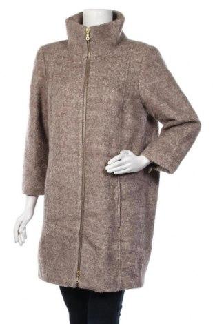Дамско палто Tom Tailor, Размер L, Цвят Кафяв, 60% полиестер, 40% вълна, Цена 42,05лв.