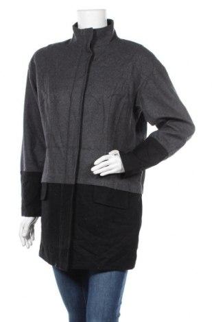Дамско палто Trouve, Размер XS, Цвят Сив, 55% вълна, 33% полиестер, 12% други нишки, Цена 56,86лв.