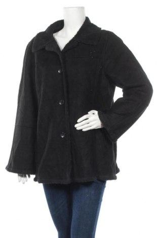 Дамско палто Utex, Размер XL, Цвят Черен, 72% полиестер, 28% акрил, Цена 13,65лв.