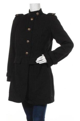 Γυναικείο παλτό Vestino, Μέγεθος L, Χρώμα Μαύρο, 80% πολυεστέρας, 17% βισκόζη, 3% ελαστάνη, Τιμή 27,02€