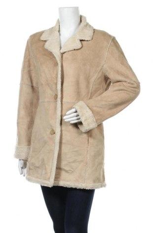 Дамско палто Weatherproof, Размер M, Цвят Бежов, Полиестер, Цена 12,34лв.