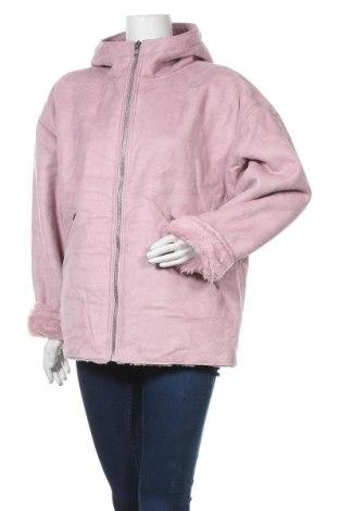 Дамско палто Weekday, Размер XS, Цвят Розов, Полиестер, Цена 36,79лв.