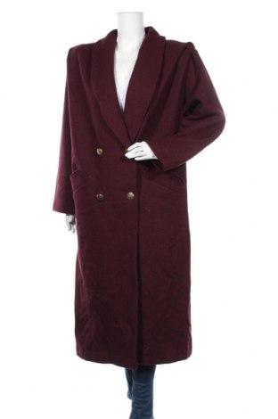 Дамско палто Worthington, Размер XL, Цвят Червен, 80% вълна, 20% полиамид, Цена 64,26лв.