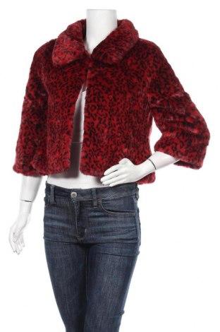Дамско палто Yes Or No, Размер S, Цвят Червен, 71% акрил, 29% полиестер, Цена 26,78лв.