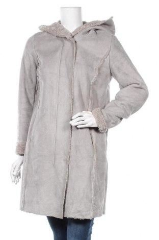 Дамско палто Yessica, Размер M, Цвят Сив, Полиестер, Цена 47,88лв.