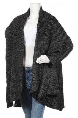 Дамско палто Zara, Размер L, Цвят Сив, Цена 23,10лв.