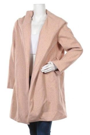 Дамско палто Zara, Размер L, Цвят Пепел от рози, Полиестер, Цена 33,32лв.