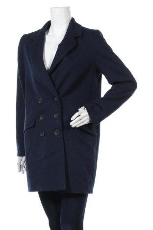 Γυναικείο παλτό Zara, Μέγεθος S, Χρώμα Μπλέ, Τιμή 30,82€