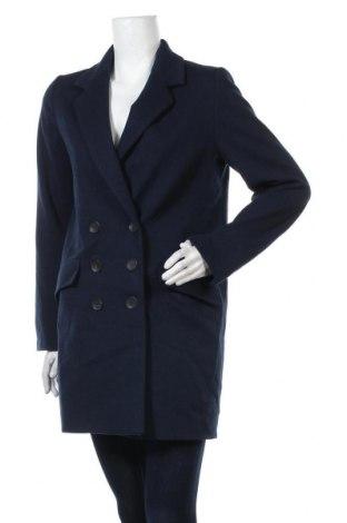 Γυναικείο παλτό Zara, Μέγεθος XS, Χρώμα Μπλέ, Πολυεστέρας, Τιμή 33,17€
