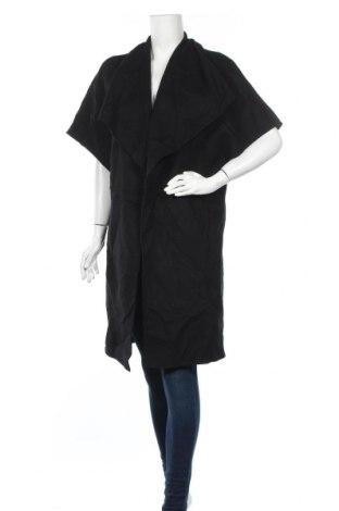 Дамско палто Zara, Размер S, Цвят Черен, Цена 20,58лв.