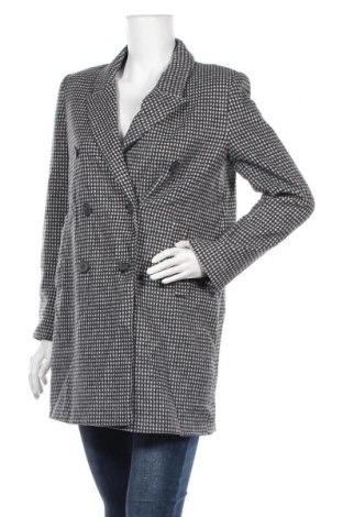 Дамско палто Zara, Размер M, Цвят Сив, 50% памук, 50% полиестер, Цена 27,30лв.