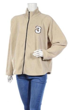 Γυναικεία ζακέτα fleece Woodpecker, Μέγεθος XXL, Χρώμα  Μπέζ, Πολυεστέρας, Τιμή 6,76€