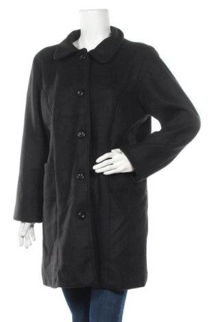 Дамско поларено палто, Размер M, Цвят Черен, 100% полиестер, Цена 9,24лв.