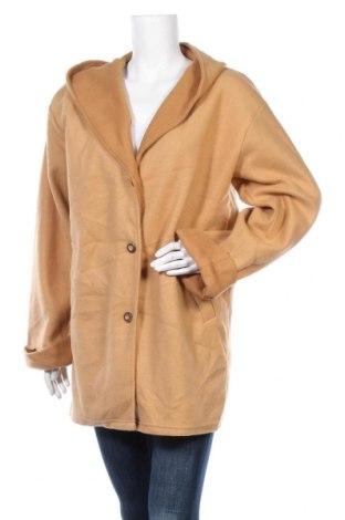 Γυναικείο fleece παλτό. Damart, Μέγεθος M, Χρώμα  Μπέζ, Πολυεστέρας, Τιμή 26,63€