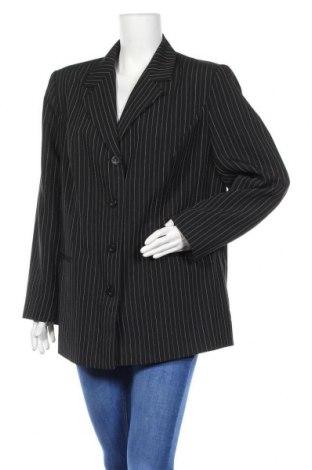 Дамско сако, Размер XL, Цвят Черен, 98% полиестер, 2% еластан, Цена 6,83лв.
