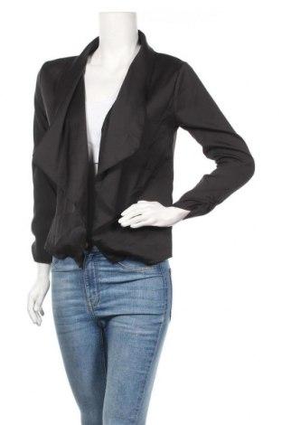 Дамско сако, Размер S, Цвят Черен, 100% полиестер, Цена 9,92лв.