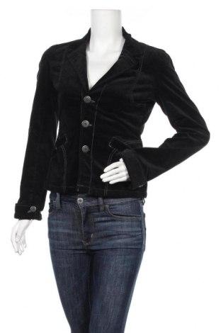 Дамско сако, Размер S, Цвят Черен, 98% памук, 2% еластан, Цена 7,35лв.