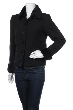 Дамско сако, Размер L, Цвят Черен, Полиестер, Цена 12,13лв.