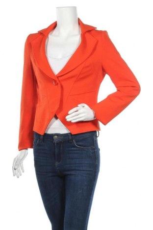 Дамско сако, Размер M, Цвят Оранжев, Полиестер, еластан, Цена 9,24лв.