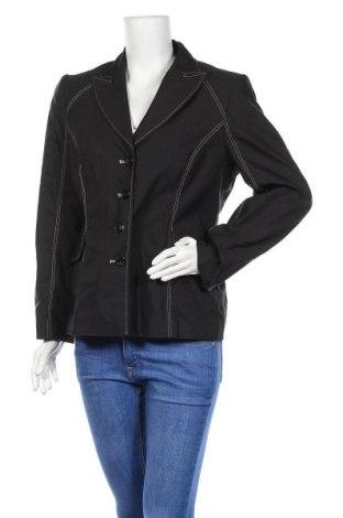 Дамско сако Betty Barclay, Размер L, Цвят Черен, 52% памук, 48% полиестер, Цена 20,14лв.