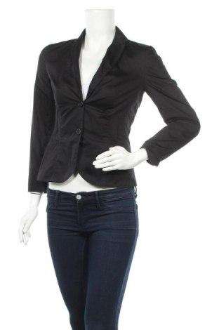 Дамско сако Boss, Размер S, Цвят Черен, Памук, Цена 48,76лв.
