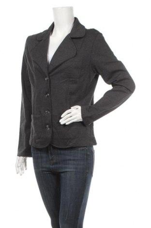 Дамско сако Bpc Bonprix Collection, Размер L, Цвят Сив, 70% памук, 30% полиестер, Цена 8,82лв.