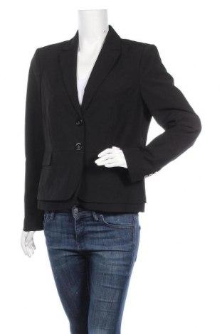 Дамско сако Comma,, Размер L, Цвят Черен, 50% полиестер, 47% вискоза, 3% еластан, Цена 34,02лв.