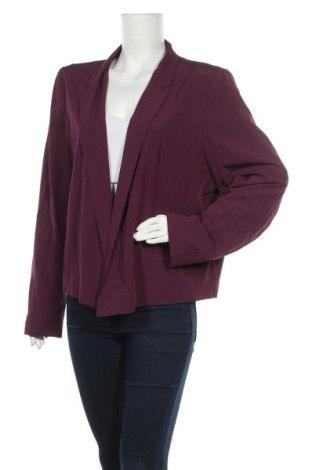 Γυναικείο σακάκι Dorothy Perkins, Μέγεθος XXL, Χρώμα Βιολετί, 93% πολυεστέρας, 7% ελαστάνη, Τιμή 18,19€