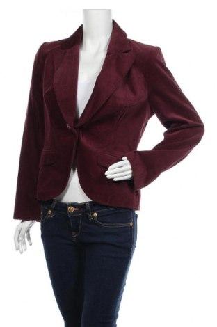 Дамско сако Duo, Размер M, Цвят Червен, 98% памук, 2% полиуретан, Цена 6,83лв.