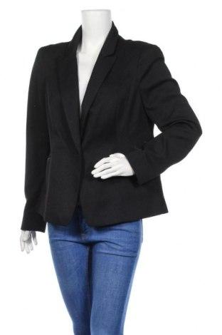 Дамско сако F&F, Размер XL, Цвят Черен, Полиестер, Цена 26,46лв.