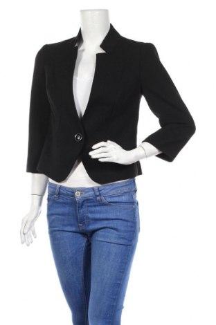 Дамско сако F&F, Размер M, Цвят Черен, Полиестер, Цена 22,05лв.